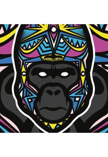 Gorille by Baro Sarre