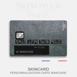 Skincard® Black Leather