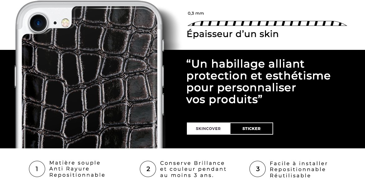 Skincover® Paris - Skins Revolutionnaires Made in France