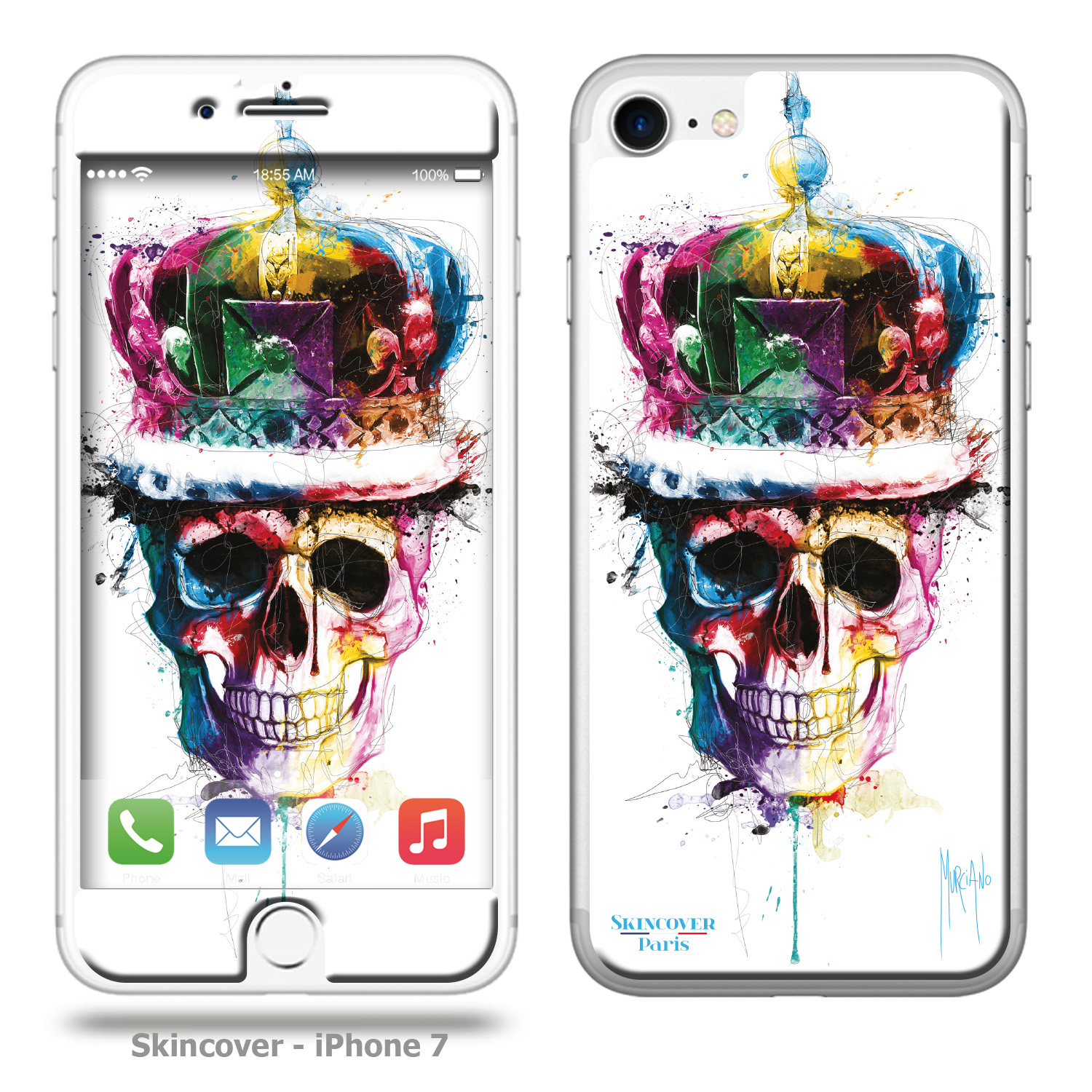 Skincover God save the queen Iphone 7 Murciano