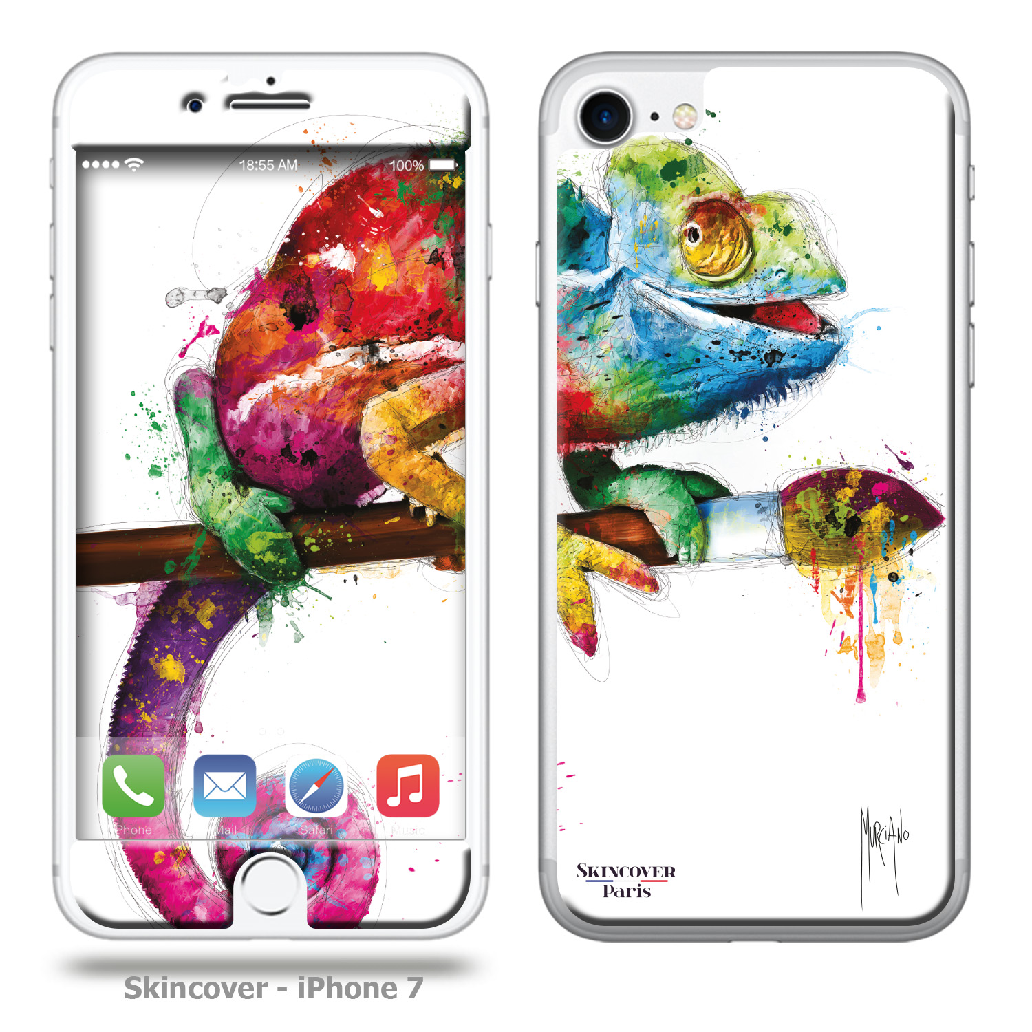 Pop Evolution Skincover Iphone 7 Patrice Murciano